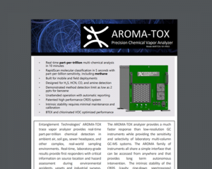 AROMA-TOX Specifications
