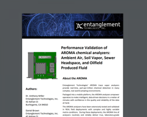 AROMA-VOC Performance Validation