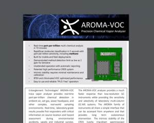 AROMA-VOC Specifications